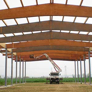 Structural project for the construction of a shed for storing agricultural stockpiling